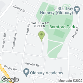 Map of Advanced Scaffolding & Construction in Oldbury, west midlands