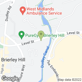 Map of Avanti Bedrooms in Brierley Hill, west midlands