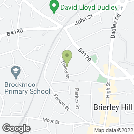 Map of Early Years Private Day Nursery Ltd in Brierley Hill, west midlands