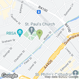 Map of Cucina Rustica Ltd in Birmingham, west midlands