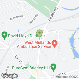 Map of Central Scooters in Brierley Hill, west midlands