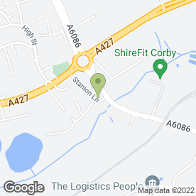 Map of Natural Smiles Dental & Beauty Spa in Corby, northamptonshire