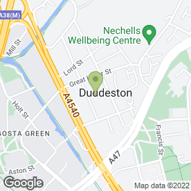 Map of du Rose Ltd in Birmingham, west midlands