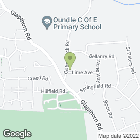 Map of Sports & Physical Injuries Clinic in Oundle, Peterborough, cambridgeshire