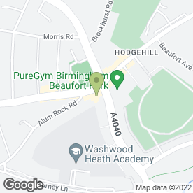 Map of Fred Parkin Furnishers in Birmingham, west midlands
