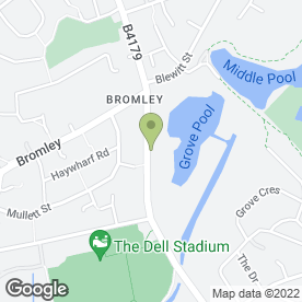 Map of Joymac in Brierley Hill, west midlands