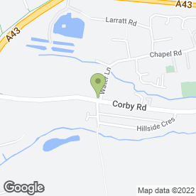 Map of Berry Garden Services in Weldon, northamptonshire