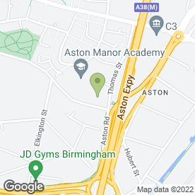 Map of BTB Woodcraft in Birmingham, west midlands