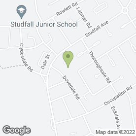 Map of Studfall Medical Centre in Corby, northamptonshire