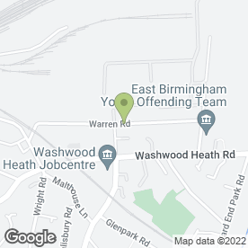 Map of Eco Heating in Washwood Heath, Birmingham, west midlands