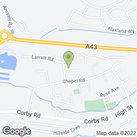 Map of 6T Catering in Weldon, Corby, northamptonshire