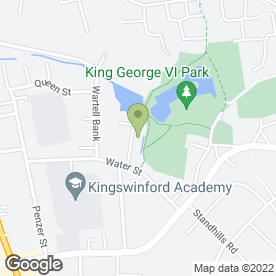 Map of MIDGAS in Kingswinford, west midlands