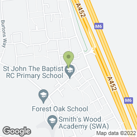 Map of LOCAL BALTI (SMITHSWOOD) in Birmingham, west midlands
