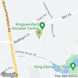 Map of Kingswinford Auto Centre in Kingswinford, west midlands
