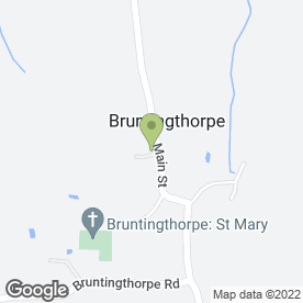 Map of STREET WISE DRIVING SCHOOL in Bruntingthorpe, Lutterworth, leicestershire