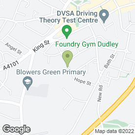 Map of Harrison Roofing Ltd in Dudley, west midlands