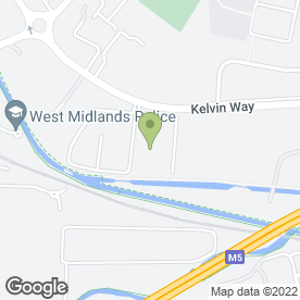 Map of Reliant Windows Ltd in West Bromwich, west midlands