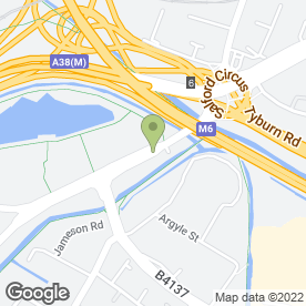 Map of Reservoir Public House in Birmingham, west midlands