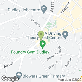 Map of AK Travel Global Ltd in Dudley, west midlands