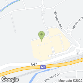 Map of The Fort Shopping Park in Birmingham, west midlands