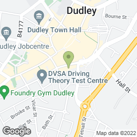 Map of Lacasa Blinds in Dudley, west midlands