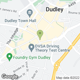 Map of Courtesy Travel Ltd in Dudley, west midlands