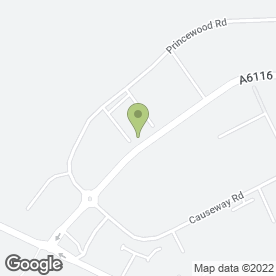 Map of EBM Electrical Services Ltd in Corby, Northampton, northamptonshire