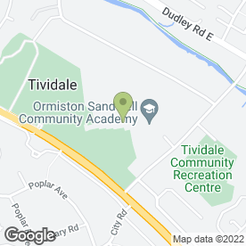 Map of Target Martial Arts in Tividale, Oldbury, west midlands
