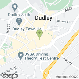 Map of Matrix Accessorise in Dudley, west midlands