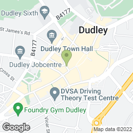 Map of John Emms Commercial in Dudley, west midlands