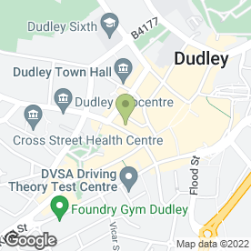 Map of BOGARTS HAIR & BEAUTY in Dudley, west midlands
