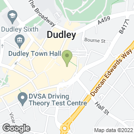 Map of Thomson in Dudley, west midlands