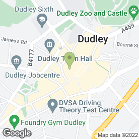 Map of Weddings R Us in Dudley, west midlands
