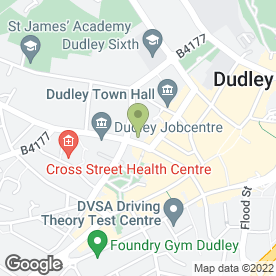 Map of Allied Surveyors & Valuers Ltd in Dudley, west midlands