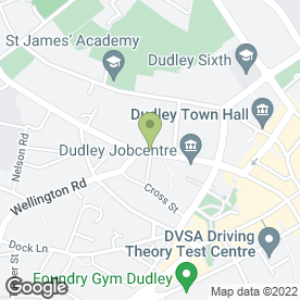 Map of Hussain Balti in Dudley, west midlands
