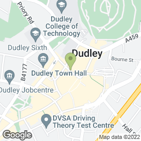 Map of Madni's in DUDLEY, west midlands