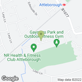Map of The Dressing Up Box in Attleborough, norfolk
