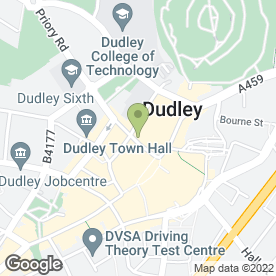 Map of Pars in Dudley, west midlands
