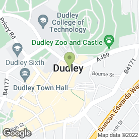 Map of NatWest Bank plc in Dudley, west midlands