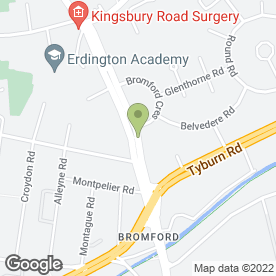 Map of JMC ENTERPRISE in Erdington, Birmingham, west midlands