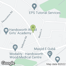 Map of J S Home Tutors in Birmingham, west midlands