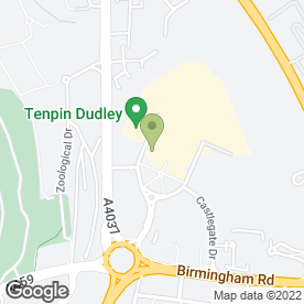 Map of The Bostin Fittle in Dudley, west midlands
