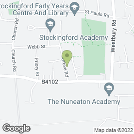Map of swags N tails in Nuneaton, warwickshire