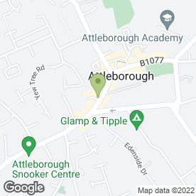 Map of Kerry Butcher in Attleborough, norfolk