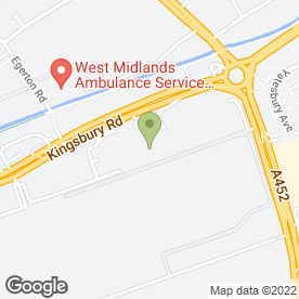 Map of Dunelm Mill in Erdington, west midlands