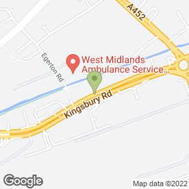 Map of Bee Tee Alarms Ltd in Birmingham, west midlands