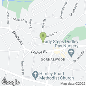 Map of Dudley Aerial Services Ltd in Gornal Wood, Dudley, west midlands