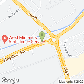 Map of Heartlands Ford in BIRMINGHAM, west midlands