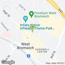 Map of W.D. Home & Garden in West Bromwich, west midlands