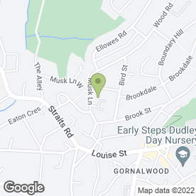 Map of Woodcraft Cabinet Makers Ltd in Dudley, west midlands